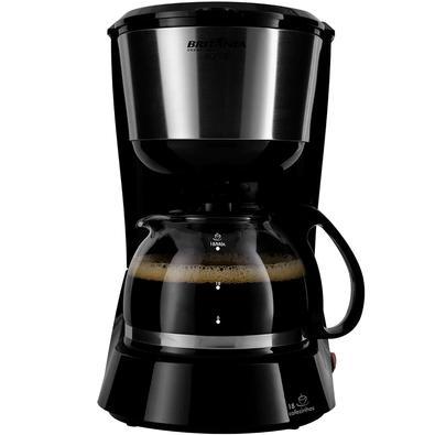 Cafeteira Elétrica Britânia BCF18I, 18 Xícaras, 550W, 110V, Preta - 63901086