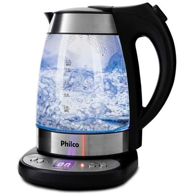 Chaleira Elétrica Philco Digital Glass PCHD, 1.7 Litros, 220V - 53952015