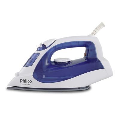 Ferro de Passar a Vapor Philco PFV310AZ, 1800W, 220V, Azul/Branco - 53602023
