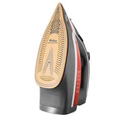 Ferro de Passar Philco Titanium Ceramic PFV3200V, 110V, Preto/Vermelho - 53601040