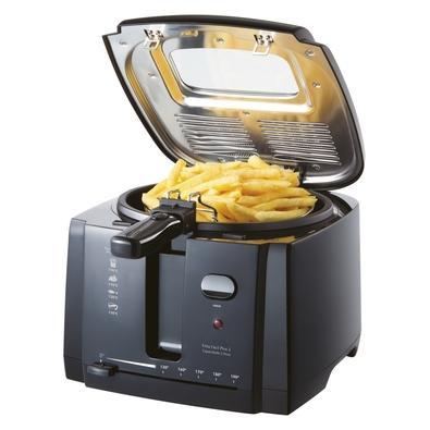 Fritadeira Britânia Frita Fácil Plus 3, 2 Litros, 110V, Preta - 63801015