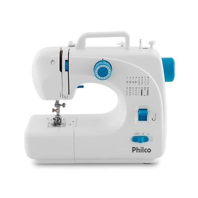 Máquina de Costura Portátil Philco PMC16BP, 16 Pontos, Bivolt, Branca - 58303003