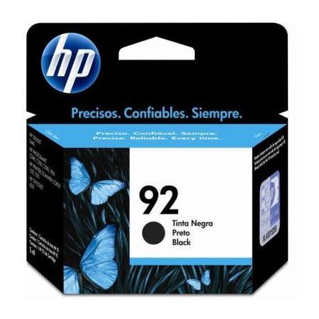 Cartucho de Tinta HP Preto HP92 C9362WB