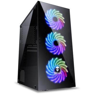 Computador Gamer Skul 5000 Intel Core i5 9400F, 8GB, SSD 240GB, RX 570 4GB, Linux - 33190