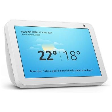 Amazon Smart Home Echo Show 8, Tela 8´, Alexa, Branco - B07SMN7FVL