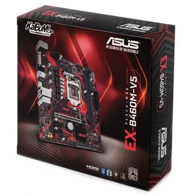 Placa-Mãe Asus EX-B460M-V5, Intel LGA 1200, mATX, DDR4