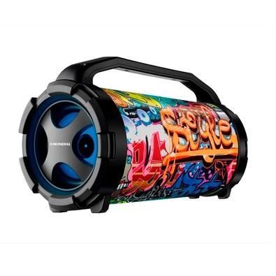 Caixa Amplificada Mondial Thunder X Double Extreme, LED, 50W, Bluetooth, USB - MCO-11