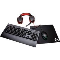 Kit Gamer Logitech G Gear UP - Mouse G203 RGB + Mo..