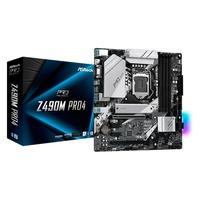 Placa-Mãe ASRock Z490M Pro4, Intel LGA 1200, Micro ATX, DDR4 - 90-MXBBV0-A0UAYZ