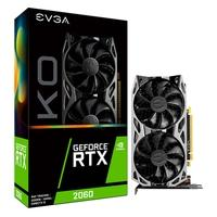 Placa de Vídeo EVGA NVIDIA GeForce RTX 2060 KO Gaming, 6GB, GDDR6 - 06G-P4-2066-KR