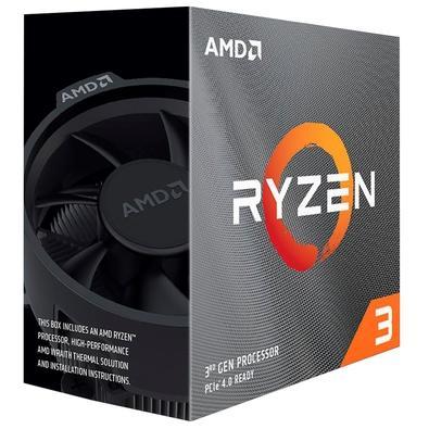 Processador AMD Ryzen 3 3300X, Cache 18MB, 4.3Ghz, AM4 - 100-100000159BOX