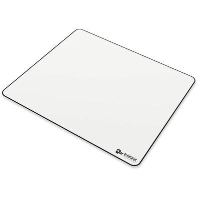 Mousepad Gamer Glorious, Grande (410x460mm), Branco - GW-XL