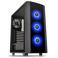Gabinete Gamer Thermaltake J25 TG, Mid Tower, ARGB, com FAN, Lateral em Vidro - CA-3L8-60M1WZ-00