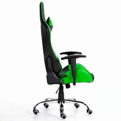 Cadeira Gamer Bluecase Titanium Green/Black - BCH22GBK