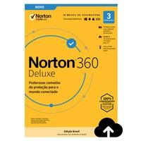Norton Antivirus 360 Deluxe ND 25GB para 3 Dispositivos - Digital para Download - 21405566