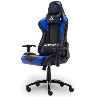 Cadeira Gamer Elements Gaming Veda Acqua Black/Blue - 63517