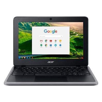 Chromebook Acer Intel Celeron N4000, 4GB, 32GB, Chrome OS, 11.6´ - C733-C6M8