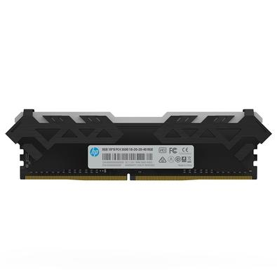 Memória HP V8 RGB, 8GB, 3600MHz, DDR4, CL18 - 7EH92AA#ABM