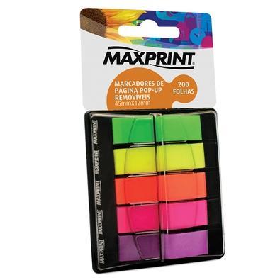 Marcador de Página Maxprint, 200 folhas - 741978