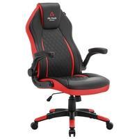 Cadeira Gamer Alpha Gamer Sirius Black Red - AGSIRIUSBKRED