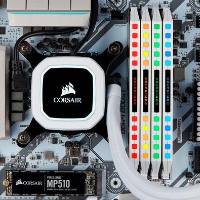 Memória Corsair Dominator Platinum 32GB (2x16GB), 3200Mhz, DDR4, C16, Branca - CMT32GX4M2C3200C16W