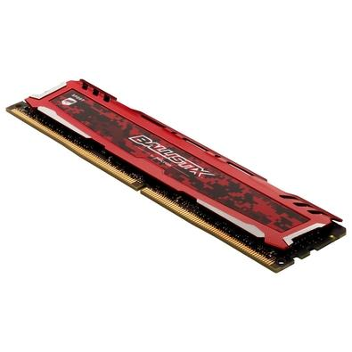 Memória Crucial Ballistix Sport, 8GB, 3200MHz, DDR4, CL16 - BLS8G4D32AESEK