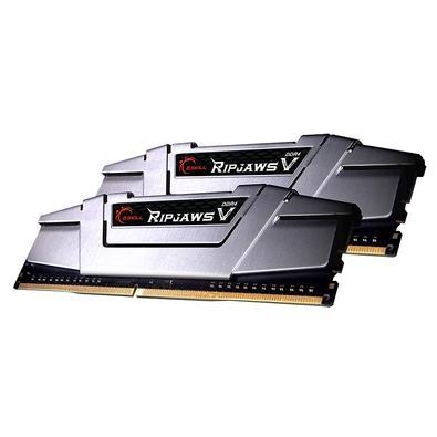 Memória G.Skill Ripjaws V, 16GB (2x8GB), 2800MHz, DDR4, CL15, Prata - F4-2800C15D-16GVSB