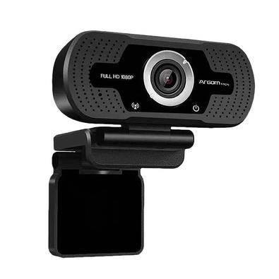 WebCam Argom Tech CAM40, Full HD 1080P - ARG-WC-9140BK