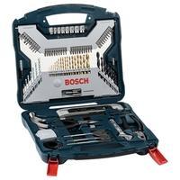 Kit de Pontas e Brocas Bosch X-Line, em Titânio, para Parafusar e Perfurar, com 103 Unidades - 2607017395-000
