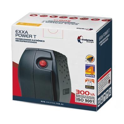 Estabilizador Coletek EXXA Power, 300VA, 220V - 316020010301
