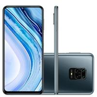Smartphone Xiaomi Redmi Note 9 Pro, 128GB, 64MP, Tela 6.67', Cinza Interstellar Gray + Capa Protetora - CX294CIN