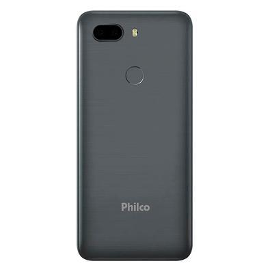 Smartphone Philco Hit Max, 128GB, 12MP, Tela 6´, Space Gray + Capa protetora - PCS02SG