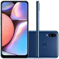Smartphone Samsung Galaxy A10s, 32GB, 13MP, Tela 6.2´, Azul - SM-A107MZBRZTO