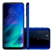 Smartphone Motorola One Fusion, 128GB, 48MP, Tela 6.5´, Azul Safira + Capa Protetora - PAK20028BR