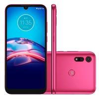 Smartphone Motorola Moto E6S, 32GB, 13MP, Tela 6.1´, Pink + Capa Protetora - PAJD0060BR