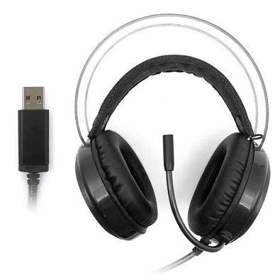 Headset Gamer C3 Tech Gaming Kestrel, LED Multicores, 7.1 Som Surround, Drivers 50mm - PH-G720BK