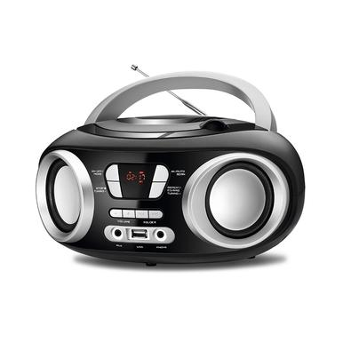 Rádio Portátil Mondial Boom Box Up, USB, CD, FM, 6W RMS - NBX-13