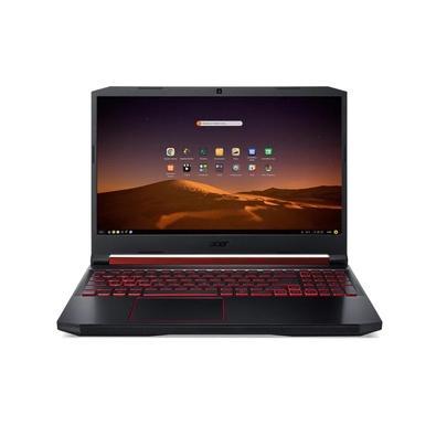 Notebook Gamer Acer Nitro 5 AMD Ryzen 7-3750H, 8GB, 1TB, SSD 128GB, GeForce GTX 1650 4GB, Endless OS, 15.6´, Preto/Vermelho - AN515-43-R4C3
