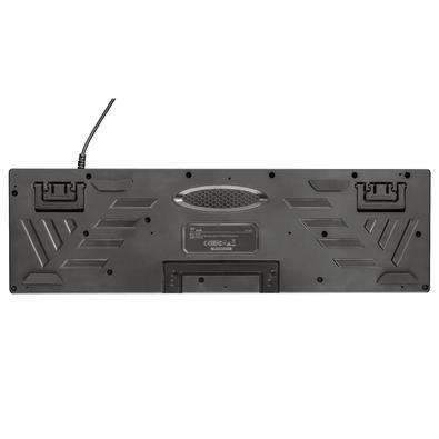 Kit Gamer Trust GXT 838 Azor - Teclado LED, US + Mouse LED, 3000DPI, 6 botões - 23289