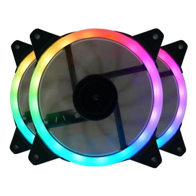 Kit 3 Cooler FAN Redragon, 360mm, RGB - GC-F011 | KaBuM!