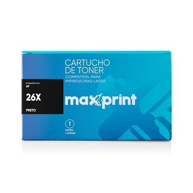 Toner Maxprint para HP Laserjet Pro CF226X, Preto - 5614477