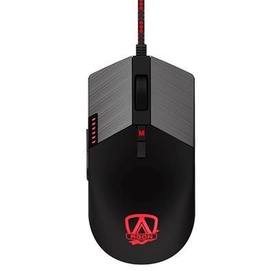 Mouse Gamer AOC Agon AGM700, RGB, 16000 DPI, 8 Botões - AGM700DRCB