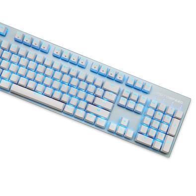 Teclado Mecânico Gamer Motospeed GK89, LED Azul, Wireless, Switch Outemu Blue, ANSI, Branco - FMSTC0078BRO