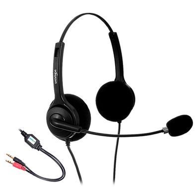 Headset Unixtron Biauricular HN200M, P2 - 733