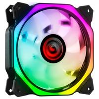 Cooler Fan PCYES, HURACAN H3 120MM LED RGB, 6 Pinos - PH3RGB120