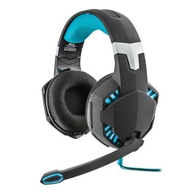 Fone de Ouvido Headset Gamer 7.1 Bass Vibration Trust Gxt363