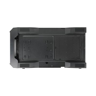 Gabinete Raidmax X616, Mid Tower,  3x Fan (2x Frontais ARGB, 1x Traseira), Lateral em Acrílico, Preto - X616TBF