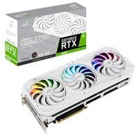 Placa de Vídeo Asus NVIDIA Geforce RTX 3090, 19.5 Gbps, 24GB, GDDR6X, Branco - ROG-STRIX-RTX3090-24G-WHITE