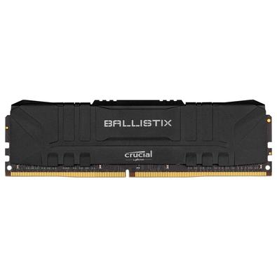 Memória RAM Crucial Ballistix 8GB DDR4 2666 Mhz, CL16, UDIMM, Preto - BL8G26C16U4B