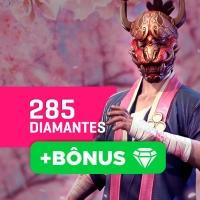 Gift Card Créditos para Free Fire: 285 Diamantes + Bônus - Produto Digital